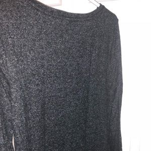 Old Navy Tops - Relaxed Plush Dark Grey Tee-